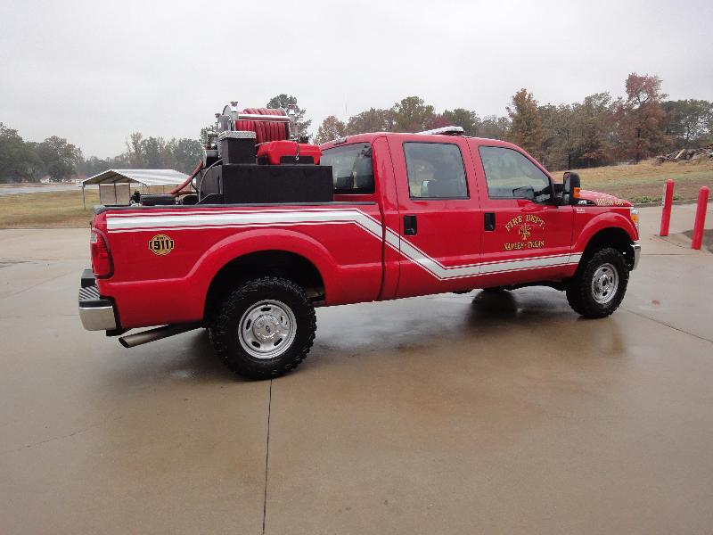 Naples, Texas, 2nd Skid Unit in Pickup, Right Side