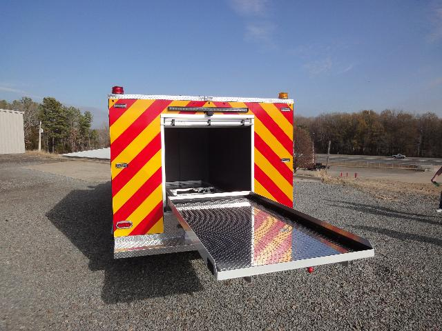 Oak Grove, AR, Light Rescue, Rear View, Tray Fully Extended