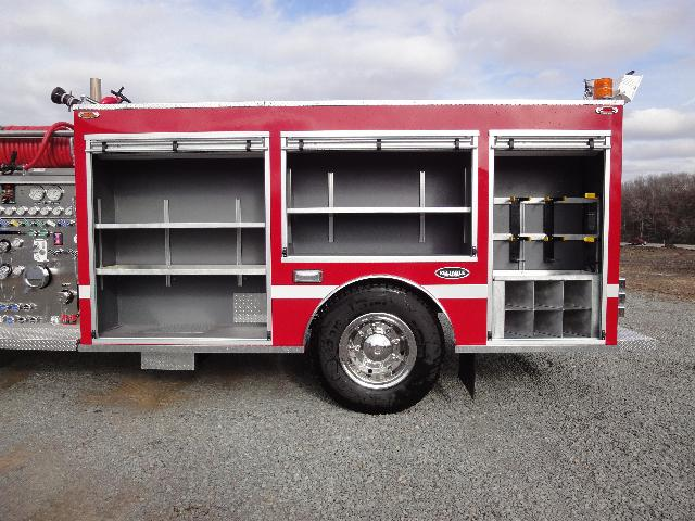 Smackover, AR, Commercial Pumper, Body Only, Left Side, Doors Open