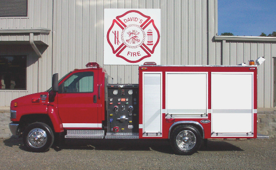 Reliable Fire Products Midi-Pumper, Left Side