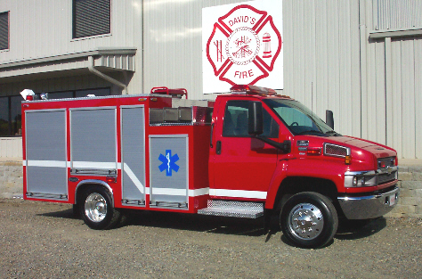 Reliable Fire Products Midi-Pumper, Right Side