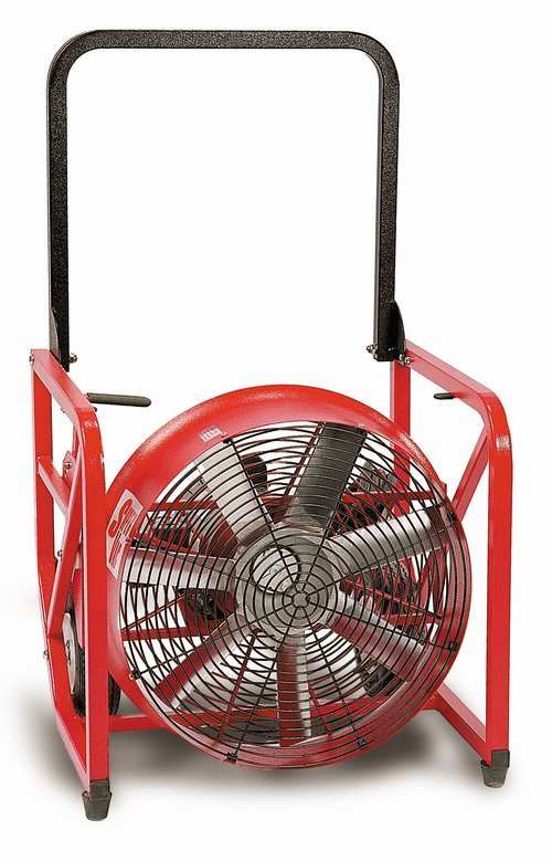 SuperVac Variable Speed Electric Positive Pressure Ventilation Fan