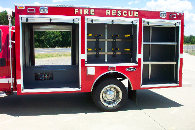 Sexsmith, Alberta, Light Duty Rescue, Left Side, Body Only, Doors Open