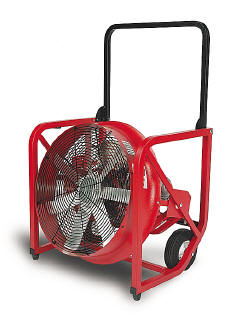 "SuperVac 16"" Variable Speed 16"" Positive Pressure Fan"